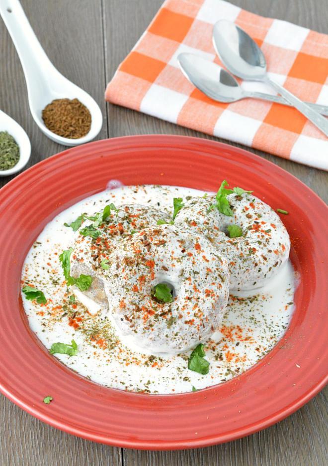 Vrat ke Dahi Bhalle from Ruchis Kitchen
