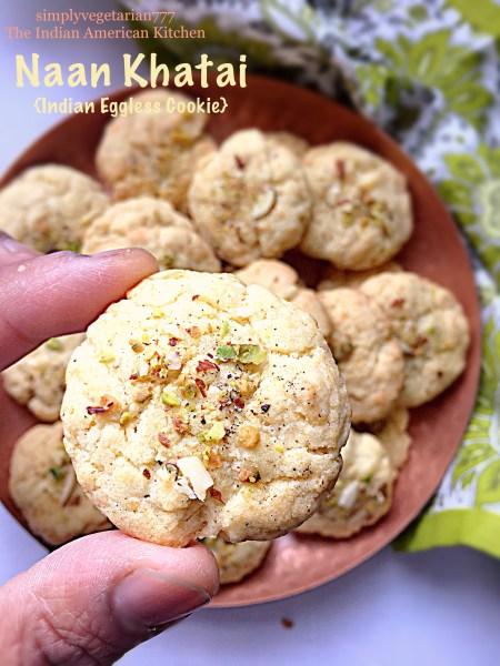 Naan Khatai - Eggless Indian Cookie