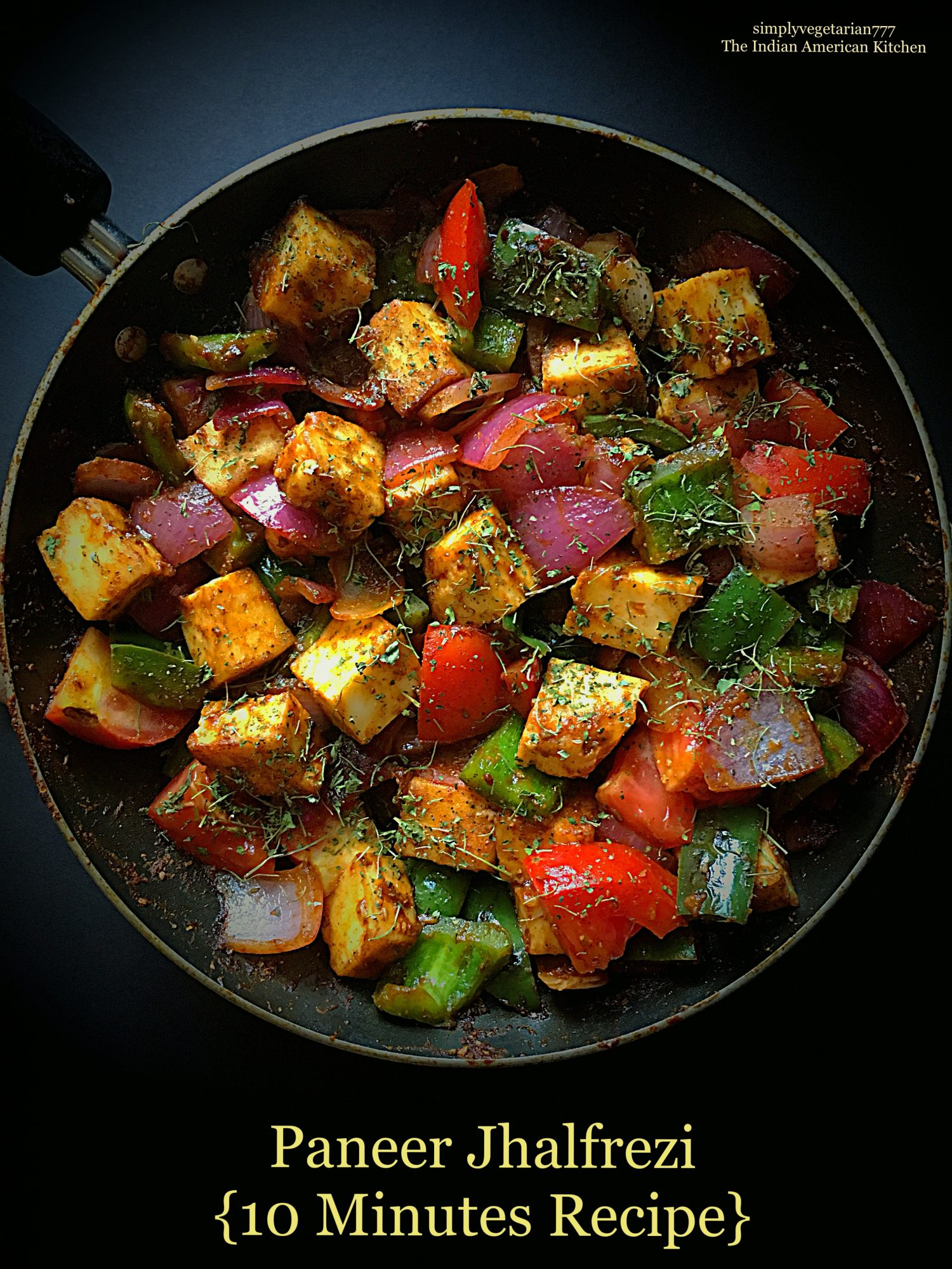 Paneer jhalfrezi 10 minutes recipe quick easy paneer recipe forumfinder Image collections