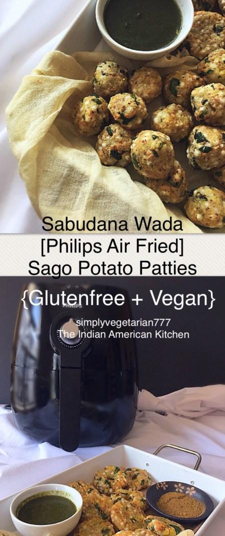 Philips Air Fryer Sabudana Wada