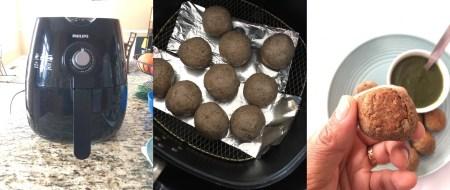 Air Fryer Kuttu Aloo Pakode
