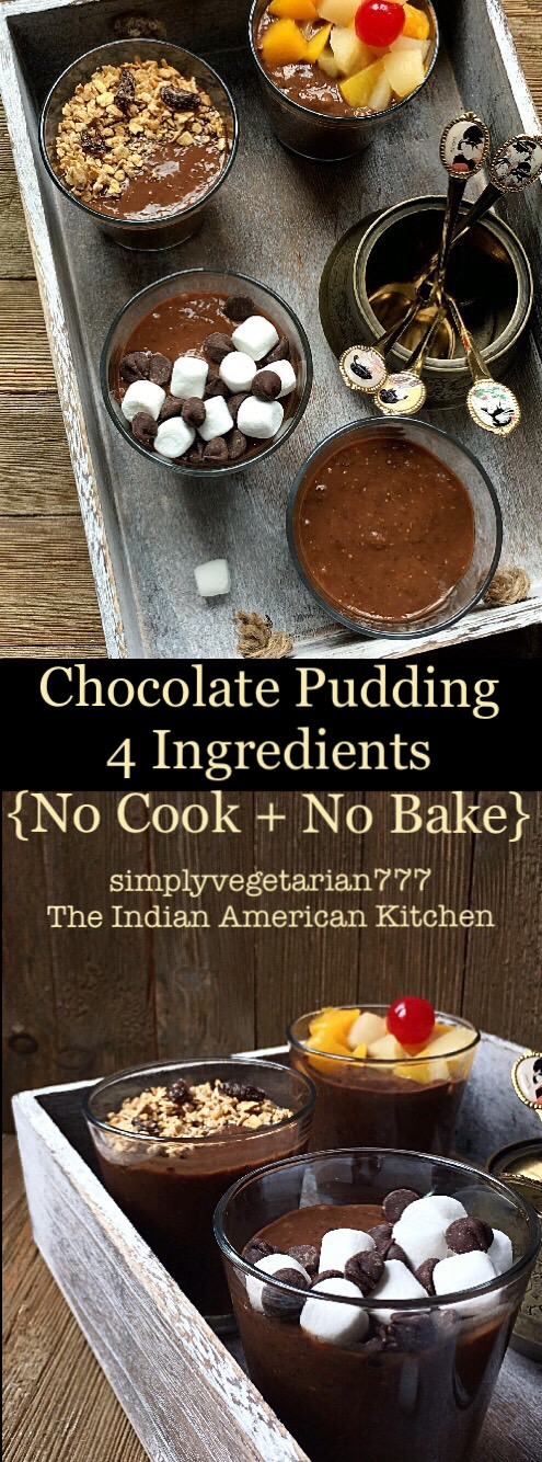 Chocolate Pudding No Cook No Bake 4 Ingredients Recipeis the perfect recipe for your breakfast or eat it for your DESSERT. Easy & Efficient Recipe which is loved by even kids. Almost like Overnight Oats but GLUTENFREE. Learn how to make the recipe from the post. #overnightoats #nobakedessert #nocookrecipe #easybreakfast #breakfast #easydessert #glutenfreedessert #glutenfreerecipes #fewingredientsrecipes #chiaseeds