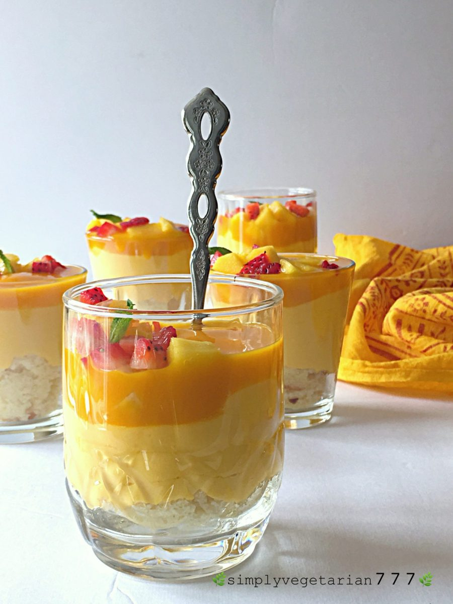 Mango Cheesecake Trifle No Cook No Bake Recipe