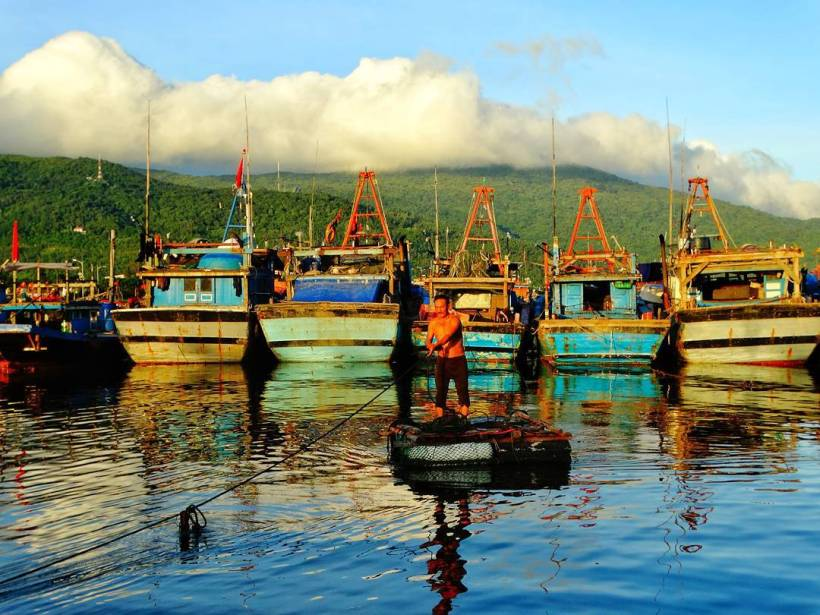 Tho Quang fishing village and painting tour (4)