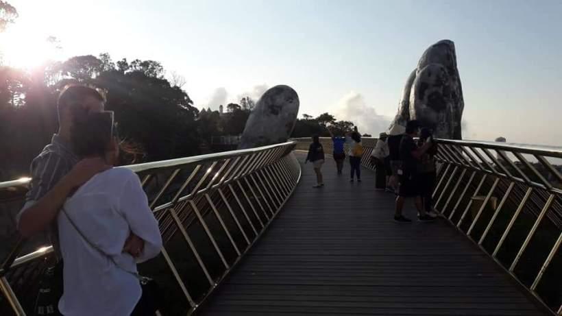 Bana Hills and Golden Bridge Sunset Private Tour (5)