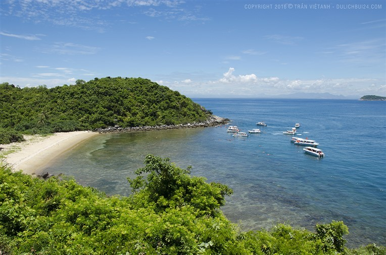 Discovery scuba diving in Cham island for certified divers (1)