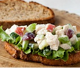 Crunchy chicken salad recipe