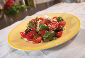 Super Simple Tomato Salad