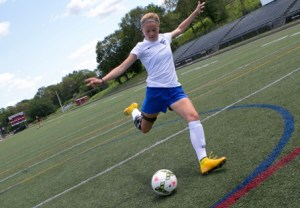 ACL patient playing soccer