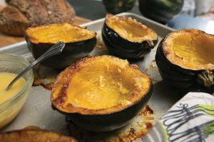 roasted ginger squash