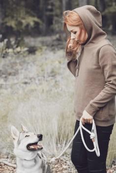 wolfdog mommy