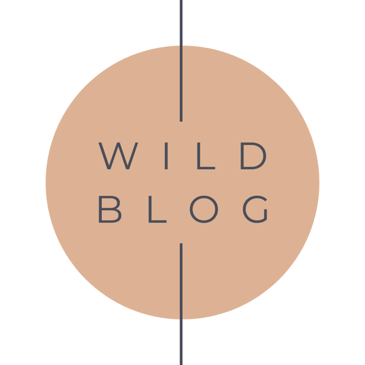 wild blog button