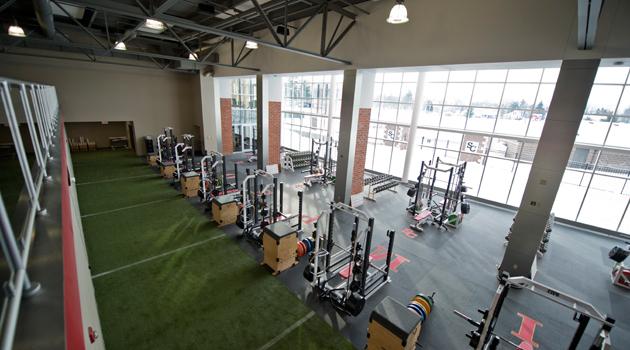 Steven Johnson Fitness Center Simpson