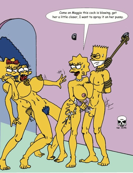 The simpsons maggie porn