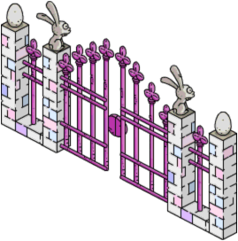 Tapped Out Easter Gate.png