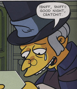 Burnseneezer Scrooge Wikisimpsons The Simpsons Wiki