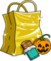 Tapped Out Gold Treat Bag.png