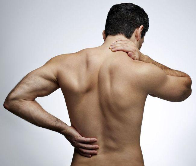 От кашля болит спина между лопатками