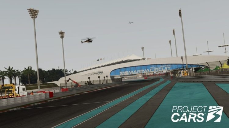 Yas Marina in Project CARS 3