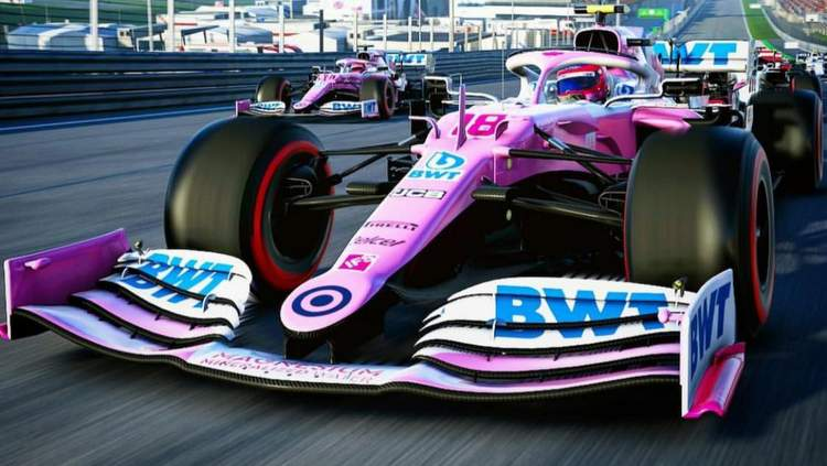 BWT F1 Esports team Racing Point F1 2020 game