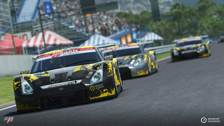 SIMRACE247 drivers shine on debut for Team Spirit in GT500