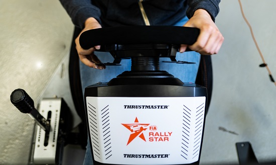FIA Rally Star and Thrustmaster partner up