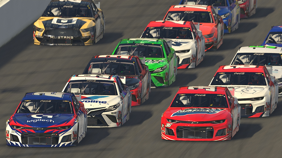 iRacing eNASCAR: 12th season begins on 8 February