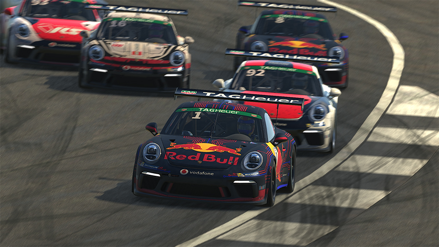 iRacing Porsche Supercup: Sebastian does the Job at Silverstone