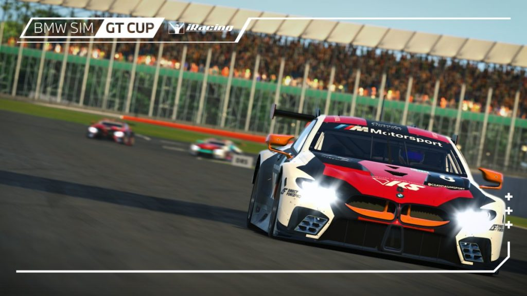 iRacing BMW GT Cup: Rogers and deJong dominate Silverstone