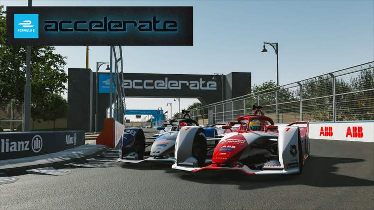 rFactor 2 Formula E: Rasmussen wins for Dragon/Penske