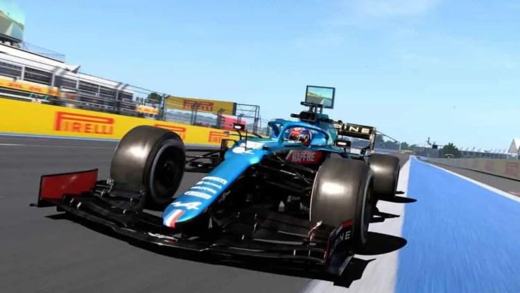 f1 2021 update portimao aston martin safety car