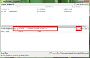 The Sims 3 Patch Downloader (2/6)