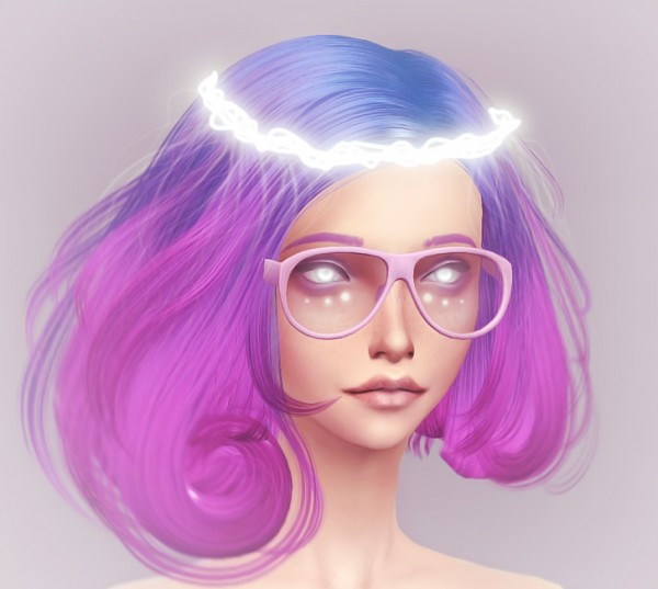 KanoYa Sims Fantastic Colorful Hairs Sims 4 Downloads