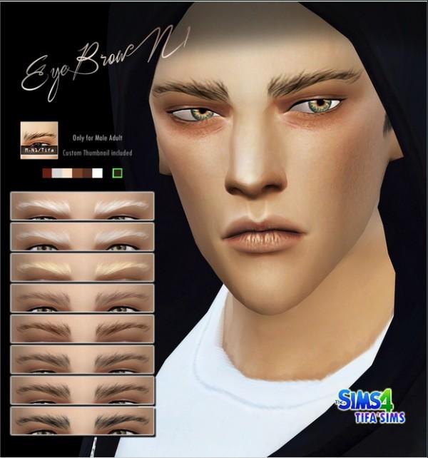 Tifa Sims Eyebrows Sims 4 Downloads