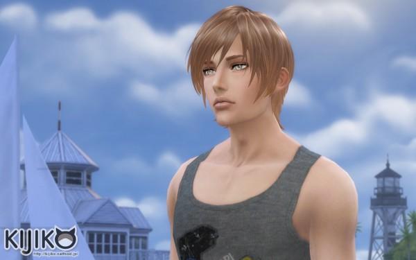 Kijiko Round Bob For Male Sims 4 Downloads