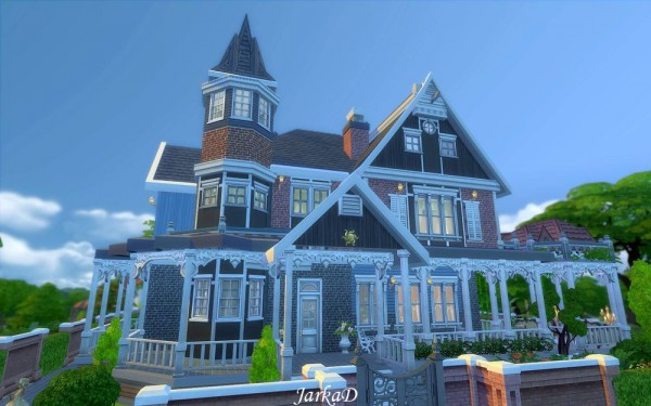 JarkaD Sims 4 Victorian House No1 Sims 4 Downloads
