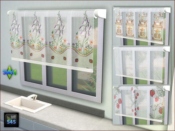 Arte Della Vita 3 Sets With 4 Blinds Sims 4 Downloads