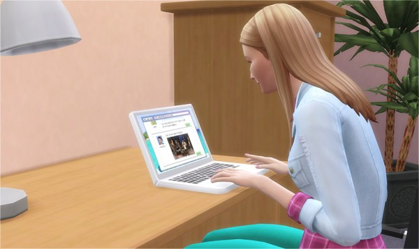 Veranka DJs Laptop Sims 4 Downloads