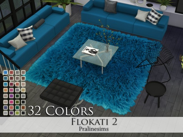 The Sims Resource Flokati 2 Rugs By Pralinesims Sims 4