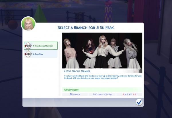 Mod The Sims Kpop Star Career Mod By Kawaiistacie Sims