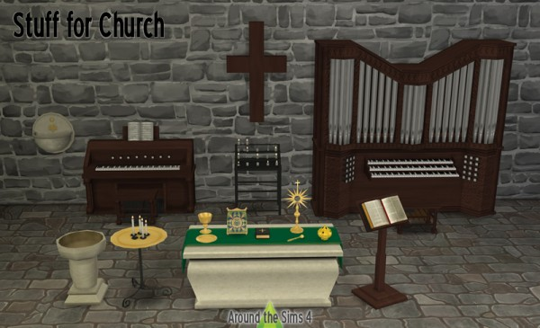 Around The Sims 4 Church Objects Sims 4 Downloads