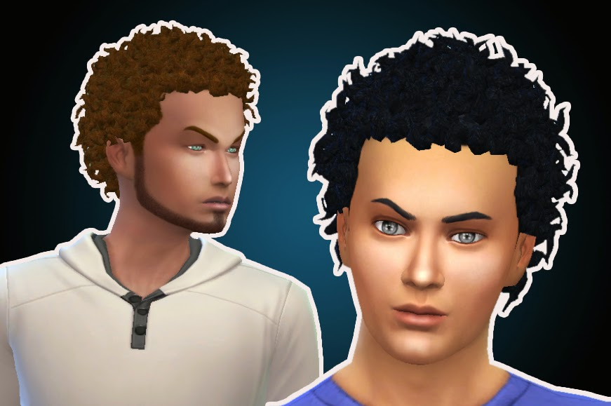 Sims 4 Hairs Mystufforigin Close Curls