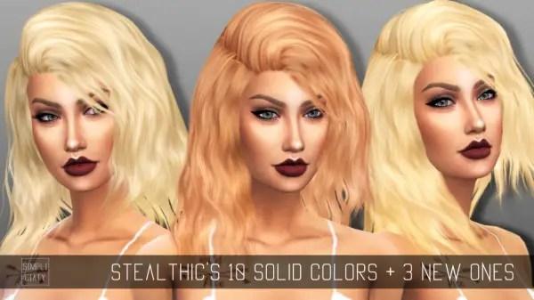 Sims 4 Hairs Simpliciaty Stealthics Sleepwalking Hair