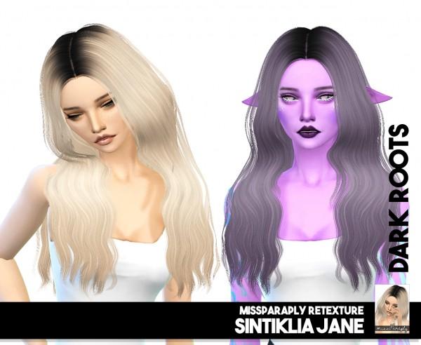 Sims 4 Hairs Miss Paraply Sintiklia Jane Solid Amp Dark