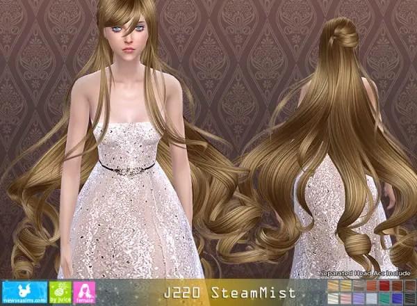 Sims 4 Hairs NewSea J220 SteamMist Hair