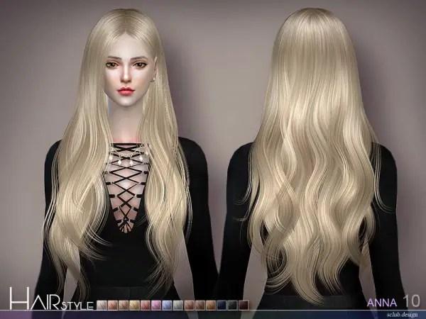 Sims 4 Hairs The Sims Resource Anna N10 Hair By S Club