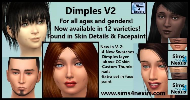 Sims 4 Male Skin Details Cc | Unixpaint
