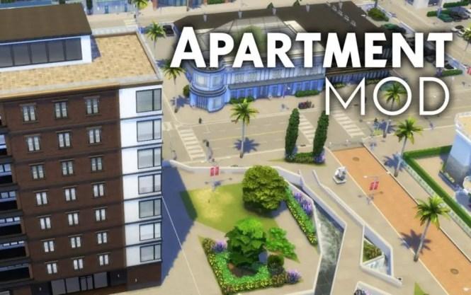 Sims 4 Apartment Mod Building