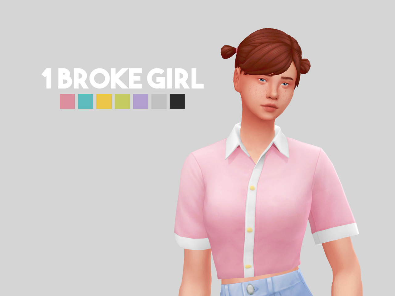 1 Broke Girl Sims 4 Updates Sims 4 Finds Amp Sims 4