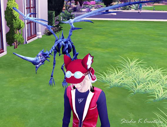 Pterosauria Dragon ACC At Studio K Creation Sims 4 Updates